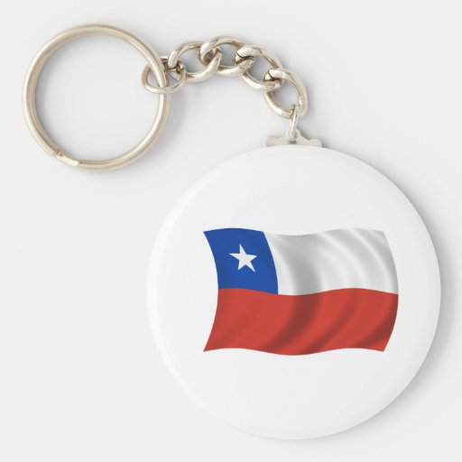 Flag of Chile Key Chains