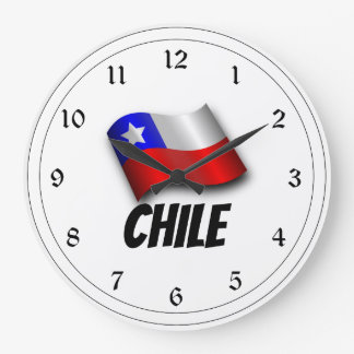 Flag of Chile, Labeled Large Clock