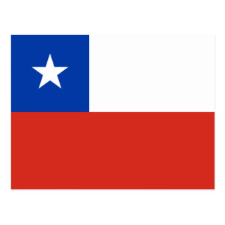 Flag of Chile Postcard