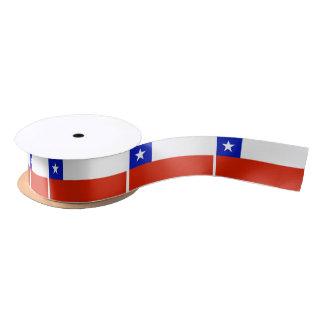 Flag of Chilean Satin Ribbon