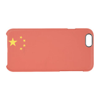 Flag of China Clear iPhone Case