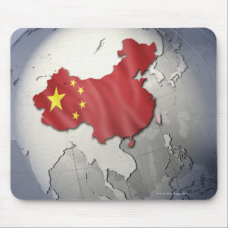 Flag of China Mouse Mat