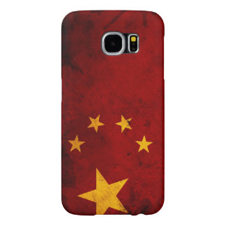 Flag Of China Samsung Galaxy S6 Cases