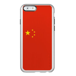 Flag of China Silver iPhone Case Incipio Feather® Shine iPhone 6 Case