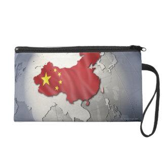 Flag of China Wristlet