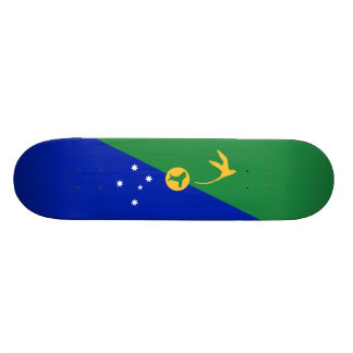 Flag of Christmas Island Skateboard Deck