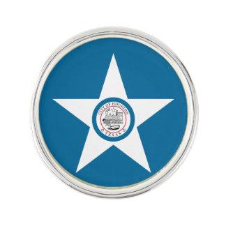 Flag of city of Houston, Texas Lapel Pin