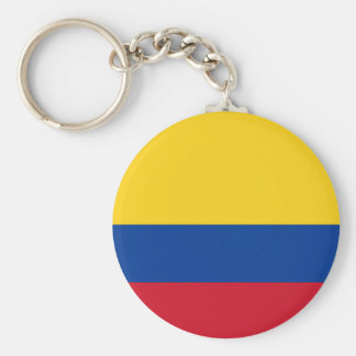 Flag of Colombia - Bandera de Colombia Key Ring