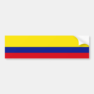 Flag of Colombia Bumper Sticker