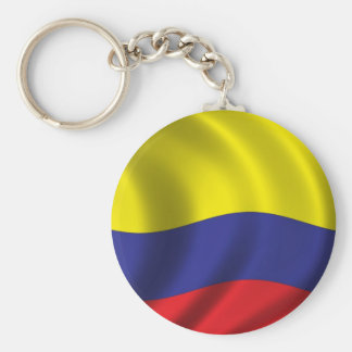 Flag of Colombia Key Ring