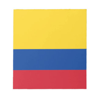 Flag of Colombia Notepad