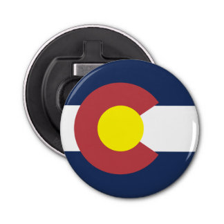 Flag of Colorado Bottle Opener