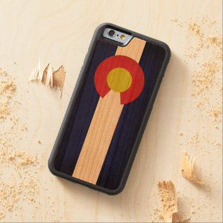 Flag of Colorado Carved Cherry iPhone 6 Bumper Case