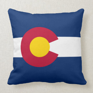 Flag of Colorado Cushion