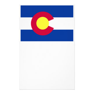 Flag of Colorado Custom Stationery