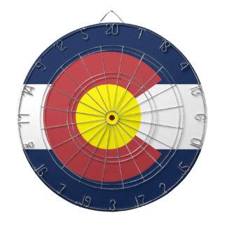 Flag of Colorado Dartboard