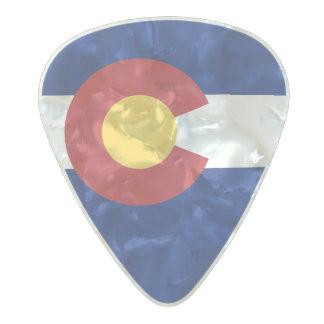 Flag of Colorado Guitar Picks