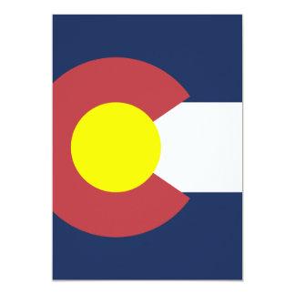 Flag of Colorado Personalized Invitation