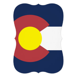 Flag of Colorado Invites
