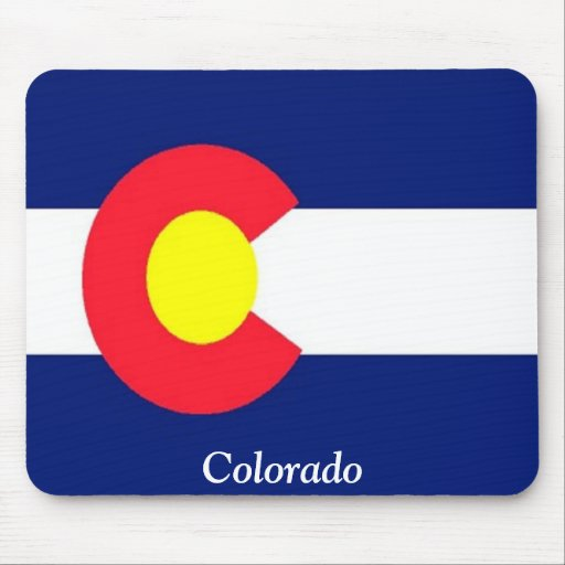 Flag of Colorado Mousepad