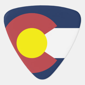 Flag of Colorado Plectrum