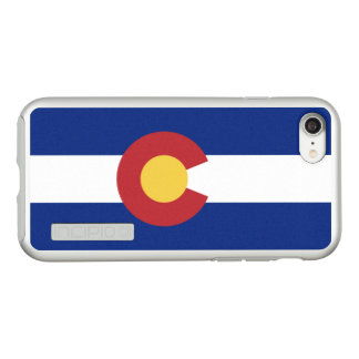 Flag of Colorado Silver iPhone Case