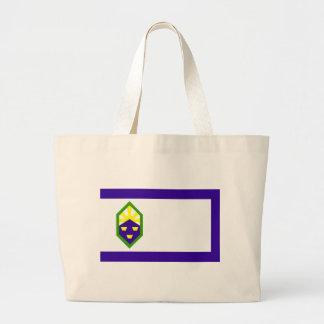 Flag of Colorado Springs Large Tote Bag