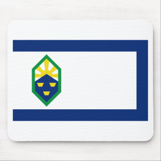 Flag of Colorado Springs Mouse Pad
