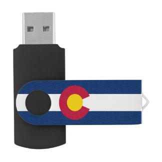 Flag of Colorado USB Flash Drive