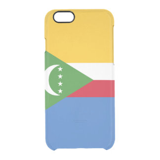 Flag of Comoros Clear iPhone Case