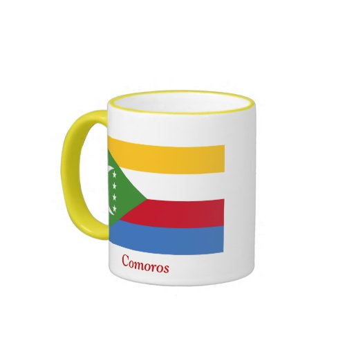 Flag of Comoros Mugs