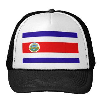 Flag of Costa Rica Trucker Hats