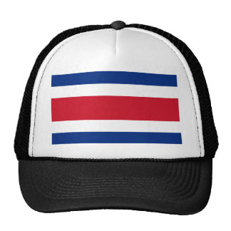 Flag of Costa Rica Hats