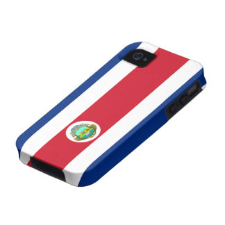 Flag of Costa Rica iPhone 4 Case-Mate Vibe™ Vibe iPhone 4 Case