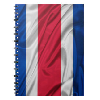 Flag of Costa Rica Notebook