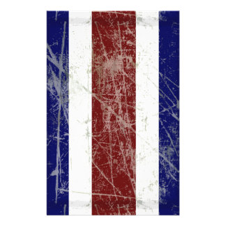 Flag of Costa Rica Personalized Stationery