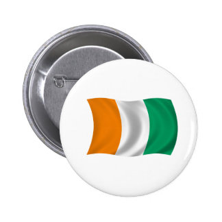 Flag of Cote d'Ivoire - Ivory Coast Pin