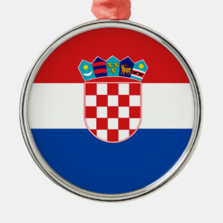 Flag of Croatia Christmas Ornament