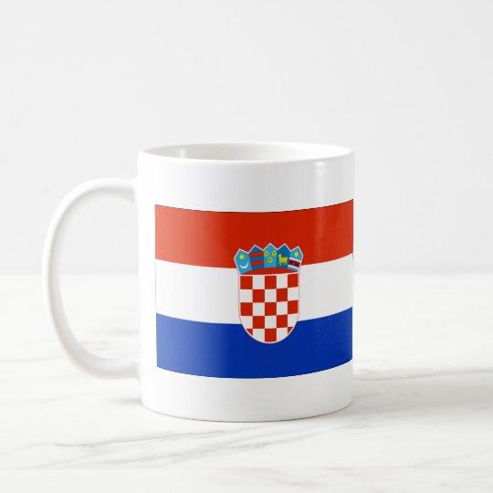 Flag of Croatia Coffee Mug