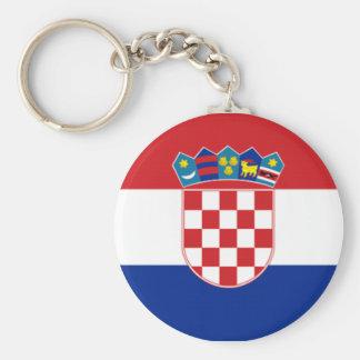 Flag of Croatia Key Ring