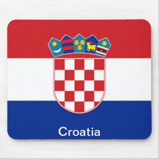 Flag of Croatia Mouse Mat