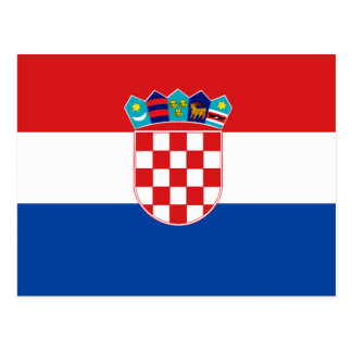Flag of Croatia Postcards
