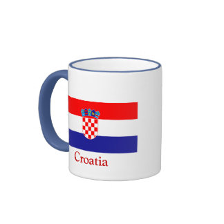 Flag of Croatia Ringer Mug