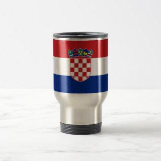 Flag of Croatia Stainless Steel Travel Mug