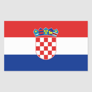 Flag of Croatia Sticker