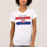 Flag of Croatia Tshirts