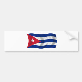 Flag of Cuba Bumper Sticker