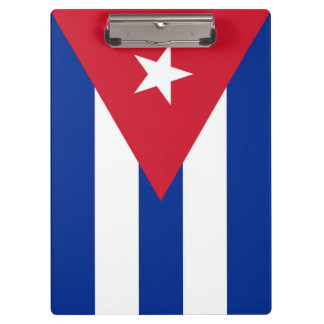 Flag of Cuba Clipboard