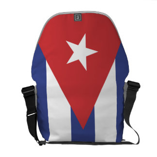 Flag of Cuba Commuter Bags
