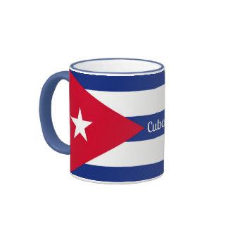 Flag of Cuba Ringer Mug